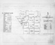 Index Map, La Crosse County 1954